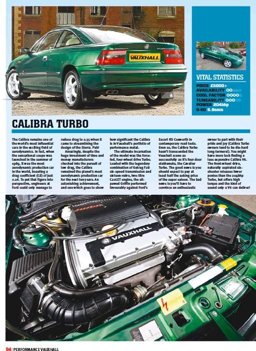 PressReader - Performance Vauxhall: 2018-12-01 - CALIBRA TURBO