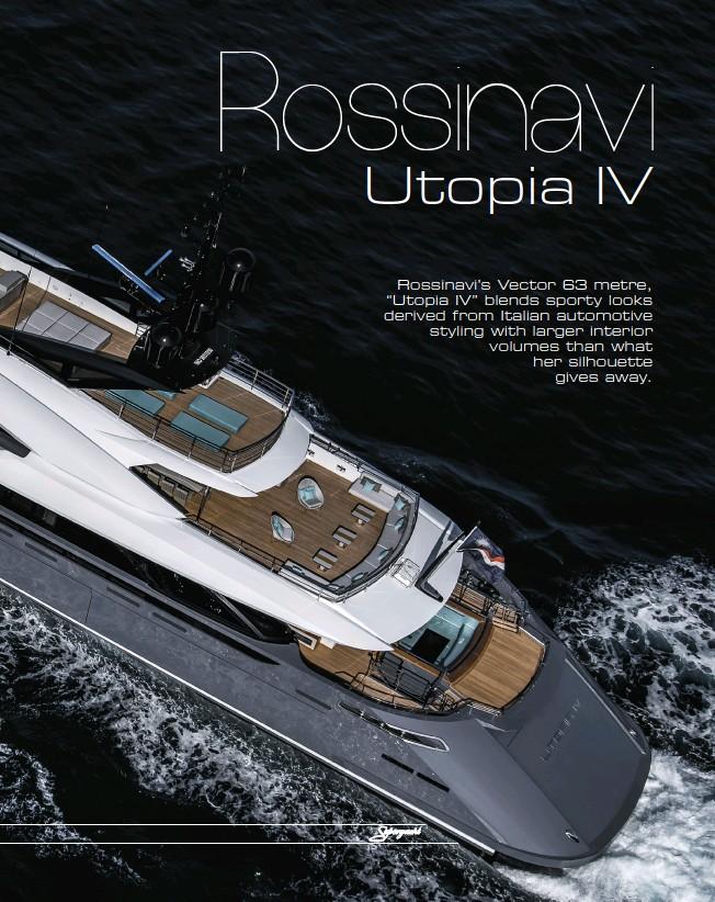 PressReader - Superyacht: 2018-12-27 - Rossinavi Utopia IV