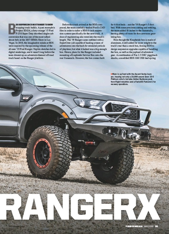 PressReader - Four Wheeler: 2019-05-01 - RANGER RETURNS!
