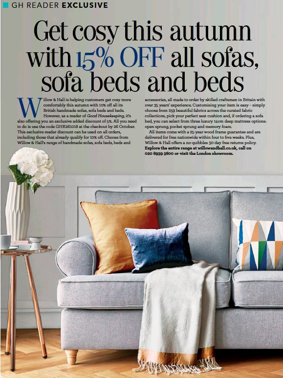 Pressreader Good Housekeeping Uk 2018 11 01 Get Cosy