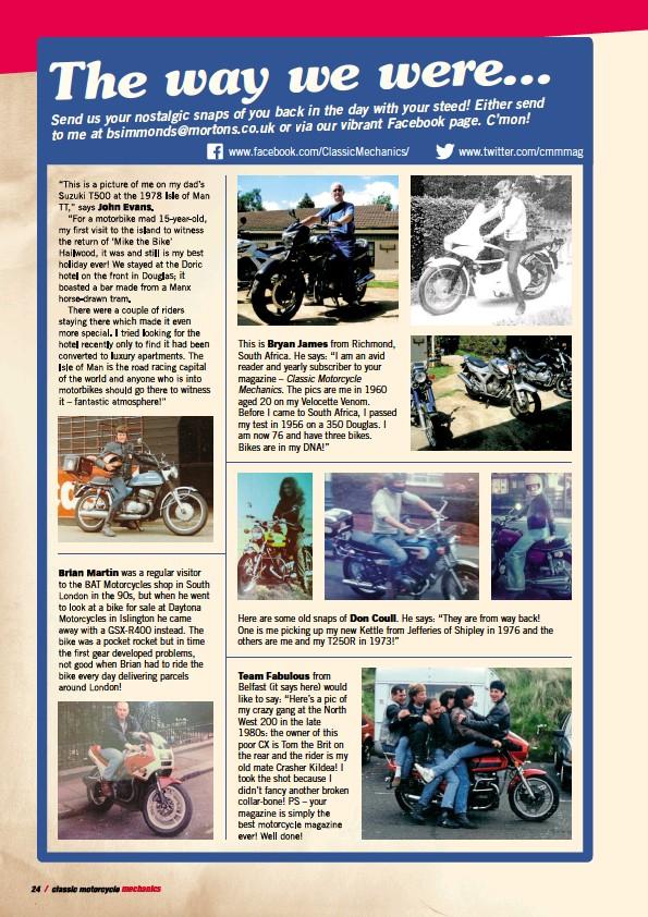 PressReader - Classic Motorcycle Mechanics: 2017-01-16 - The
