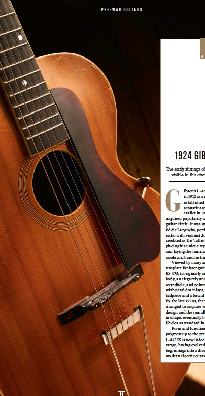 PressReader - Guitarist: 2019-03-08 - 1924 Gibson L-4