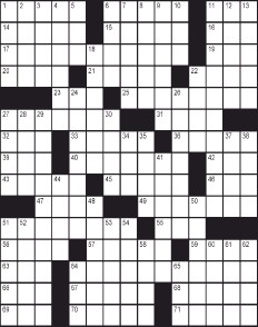 Ny daily news crossword