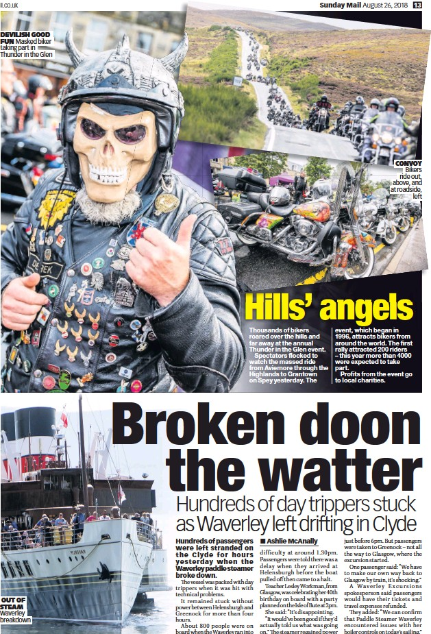 PressReader - Sunday Mail (UK): 2018-08-26 - Broken doon the