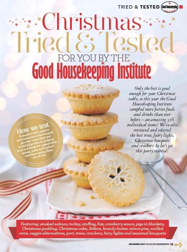 Pressreader Good Housekeeping Uk 2017 12 01 Christmas Tried