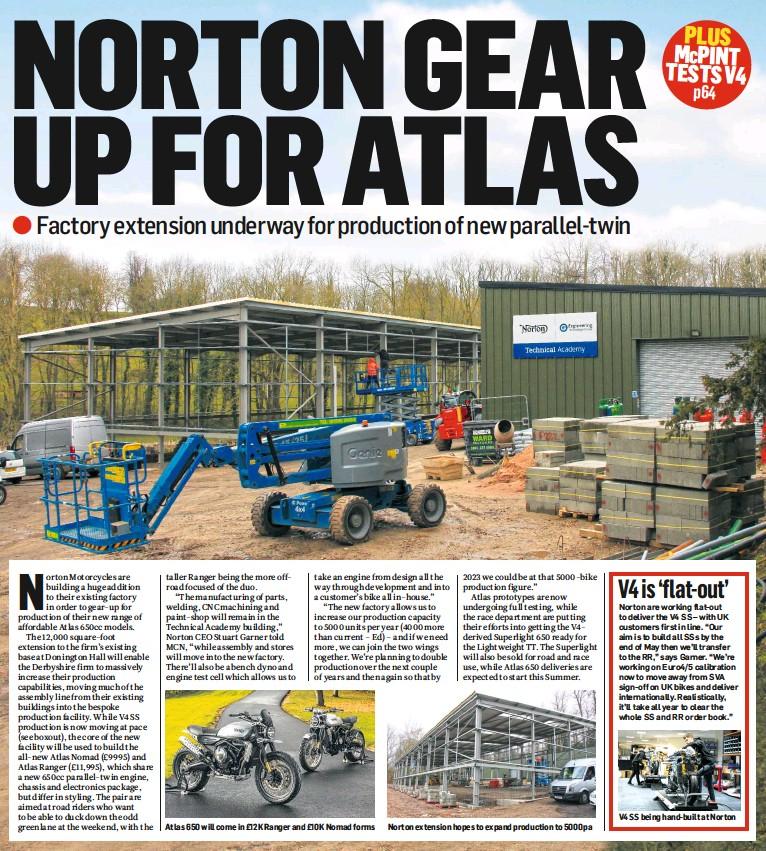 PressReader - Motorcycle News (UK): 2019-04-10 - Norton gear