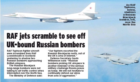 PressReader - Daily Express: 2018-09-21 - RAF jets scramble to see