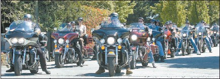 PressReader - Vancouver Sun: 2006-07-01 - Bikers pay tribute