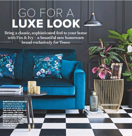 Pressreader Ideal Home Uk 2017 11 01 Go For A Luxe Look