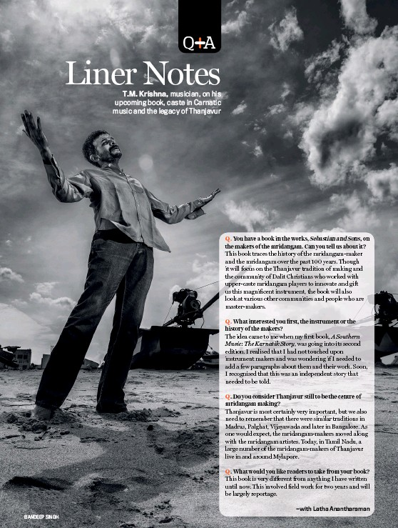 PressReader - India Today: 2019-02-04 - Q&A: T M  KRISHNA