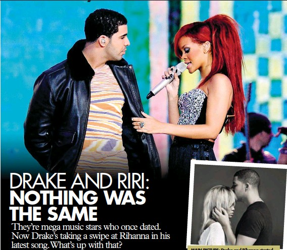 """Drake and the host played a game of """"are you dating, have you dated,"""" and he."""
