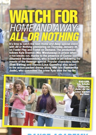 PressReader - TV Soap: 2017-02-06 - WATCH FOR HOME AND AWAY
