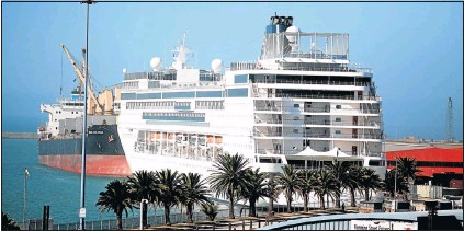PressReader The Herald South Africa NEWS Saga - Stranded cruise ship
