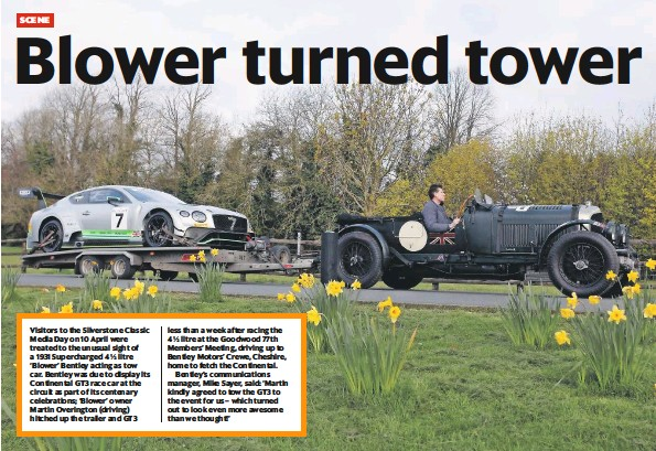 Tow For Less >> Pressreader Classic Car Weekly Uk 2019 04 17 Blower Turned Tower