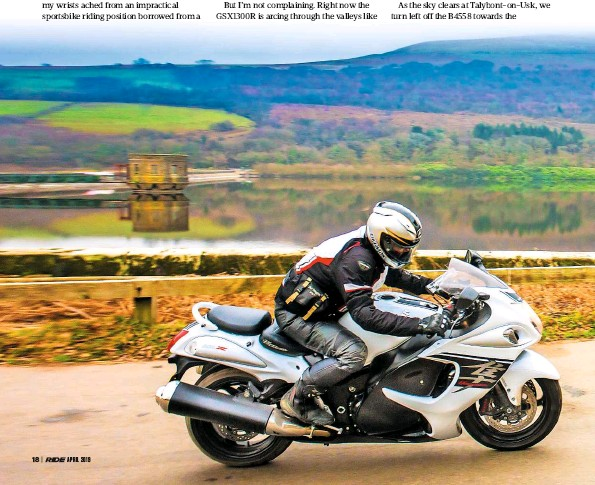 PressReader - RiDE (UK): 2019-04-01 - Road trip: Suzuki