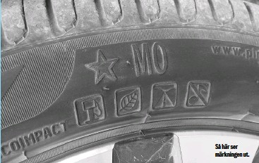 punkteringsfria däck bmw