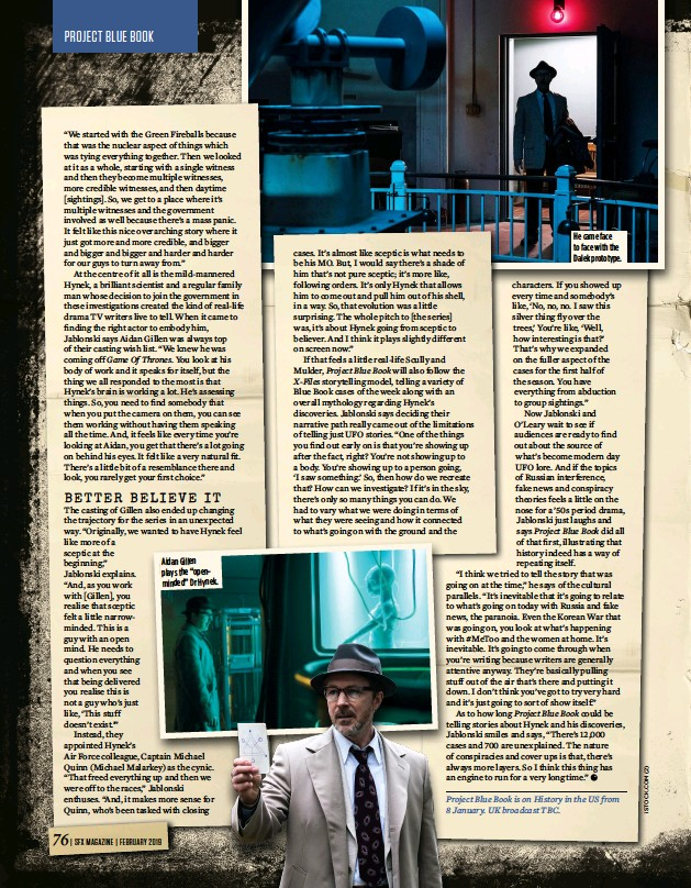 project blue book history channel release date uk