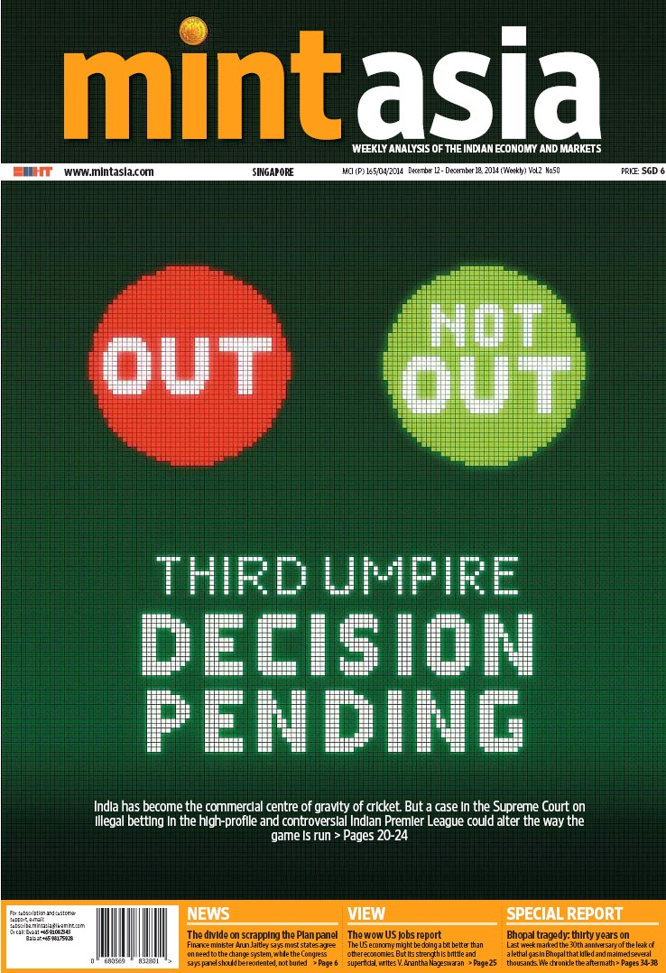 PressReader - Mint Asia ST: 2014-12-12 - THIRD UMPIRE