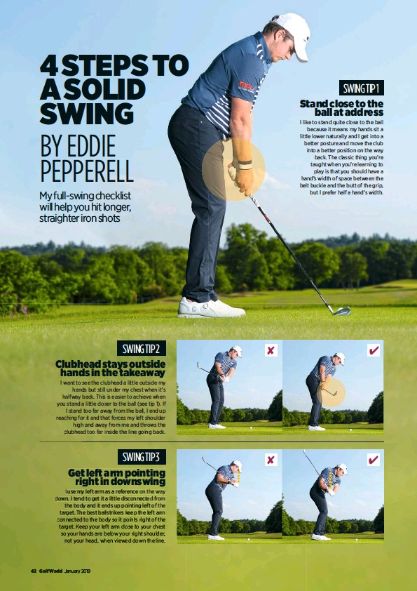 PressReader - Golf World (UK): 2019-01-01 - EDDIE PEPPERELL