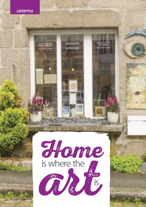 PressReader - Living France: 2018-04-01 - Home is where the