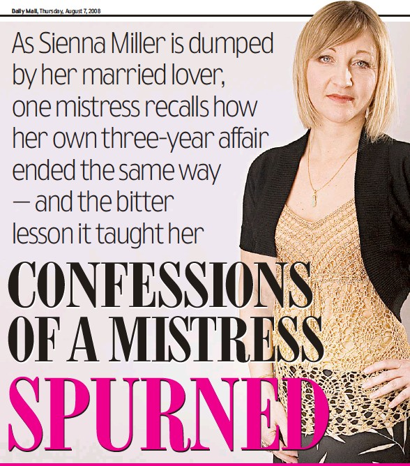 PressReader - Daily Mail: 2008-08-07 - CONFESSIONS