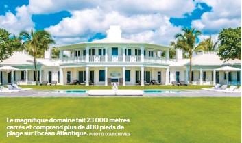 Pressreader le journal de quebec 2017 01 14 la mai for Villa de celine dion en floride