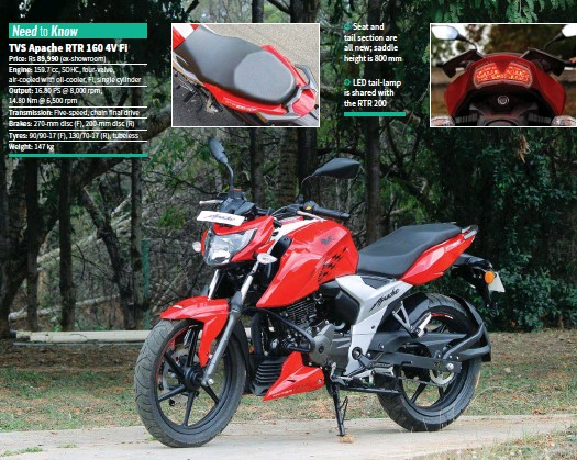 Groovy Pressreader Bike India 2018 04 10 Tvs Apache Rtr 160 4V Gmtry Best Dining Table And Chair Ideas Images Gmtryco
