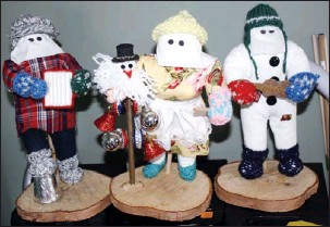 how to make mummer dolls