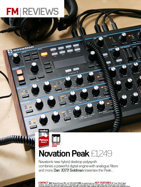 PressReader - Future Music: 2017-07-27 - Novation Peak £1,249