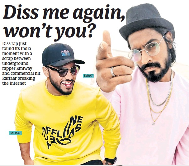 PressReader - Mid Day: 2018-11-04 - DISS RAP'S INDIA MOMENT