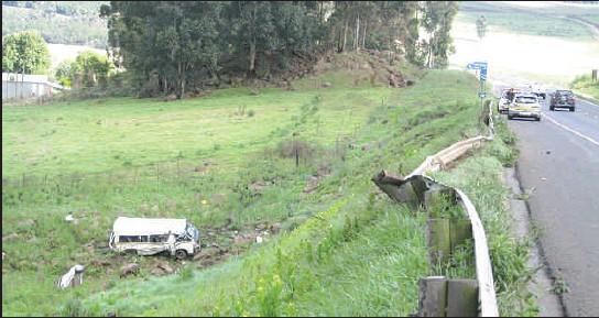 PressReader - The Witness: 2009-10-20 - Horrific taxi accident on N3