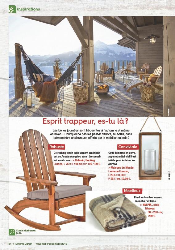 Pressreader Détente Jardin 2018 10 11 Esprit Trappeur