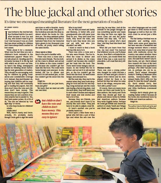 PressReader - The Hindu: 2018-10-07 - The blue jackal and