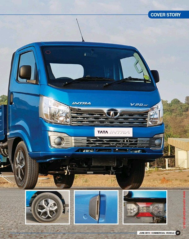PressReader - Commercial Vehicle: 2019-06-19 - Tata Intra: Style