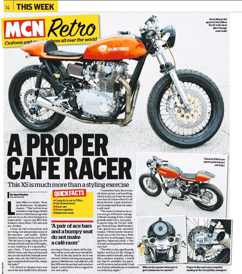 PressReader - Motorcycle News (UK): 2017-02-22 - Super- cool