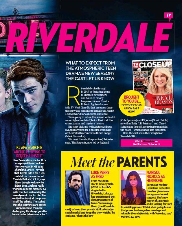 PressReader - OK! (Australia): 2018-10-04 - Riverdale stars