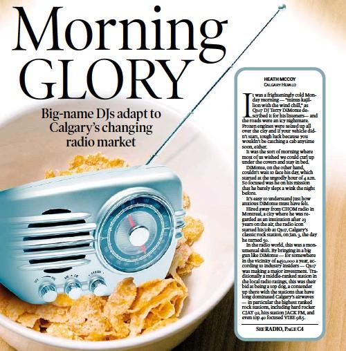 PressReader - Calgary Herald: 2008-02-05 - Morning GLORY Big-name