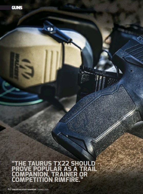 PressReader - Concealed Carry Hand Guns: 2019-04-23 - DIVERSE DEFENSE
