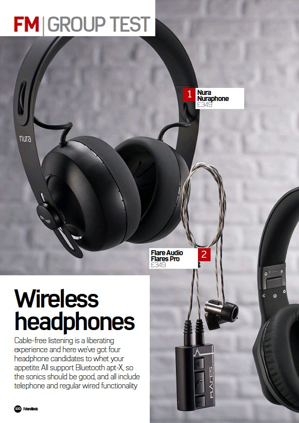PressReader - Future Music: 2018-03-08 - Group test: Wireless Headphones