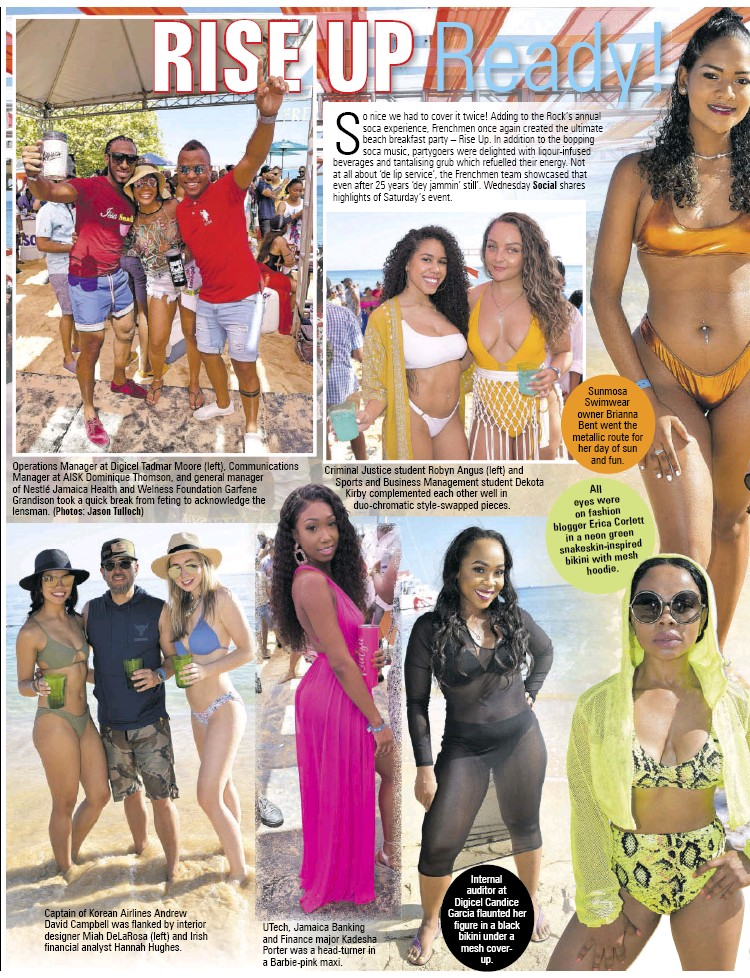PressReader - Daily Observer (Jamaica): 2019-04-24 - RISE UP