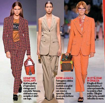 9465733a2cc2 RAGGIO DI SOLE Doppiopetto e pantaloni a campana: il tailleur Zara sarebbe  serioso se non fosse per il color giallo sole e l'abbinamento con camicia  ampia e ...
