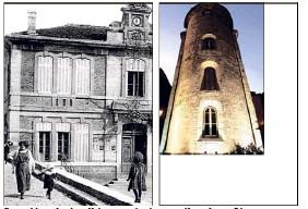 L'exposition « Le vieux Hyères, passé présent » mêlera photos d'époque, comme ici la place Saint-Louis (devenue place République) et clichés récents, comme la tour des Templiers.