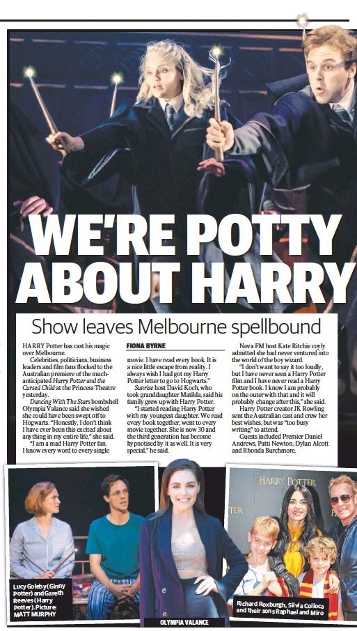 PressReader - Sunday Herald Sun: 2019-02-24 - HARRY POTTER