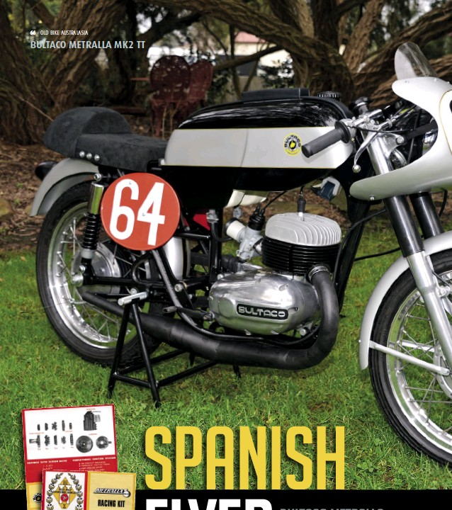 PressReader - Old Bike Australasia: 2017-09-01 - SPANISH FLYER