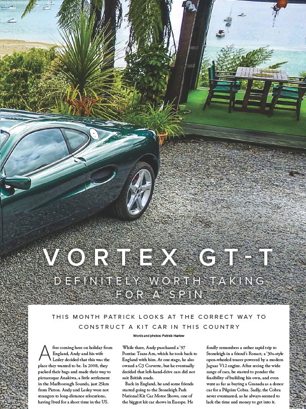 PressReader - New Zealand Classic Car: 2018-03-26 - VORTEX G T-T