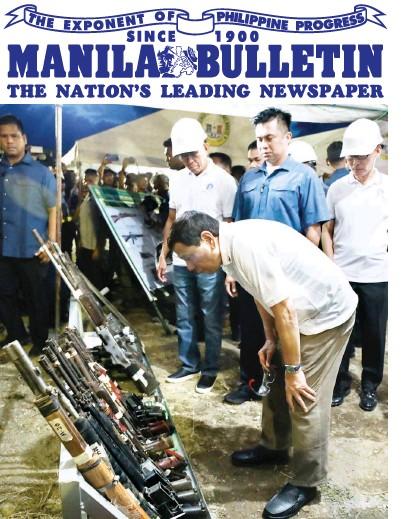 PressReader - Manila Bulletin: 2019-07-18 - REBEL GUNS