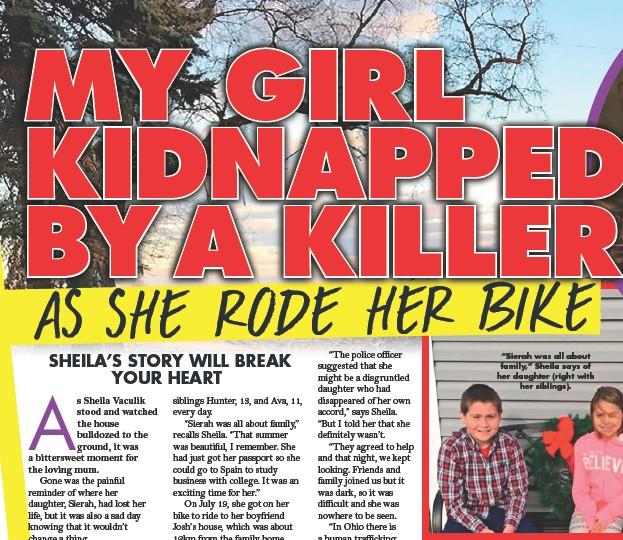 PressReader - New Idea: 2019-02-18 - MY GIRL KIDNAPPED BY A KILLER