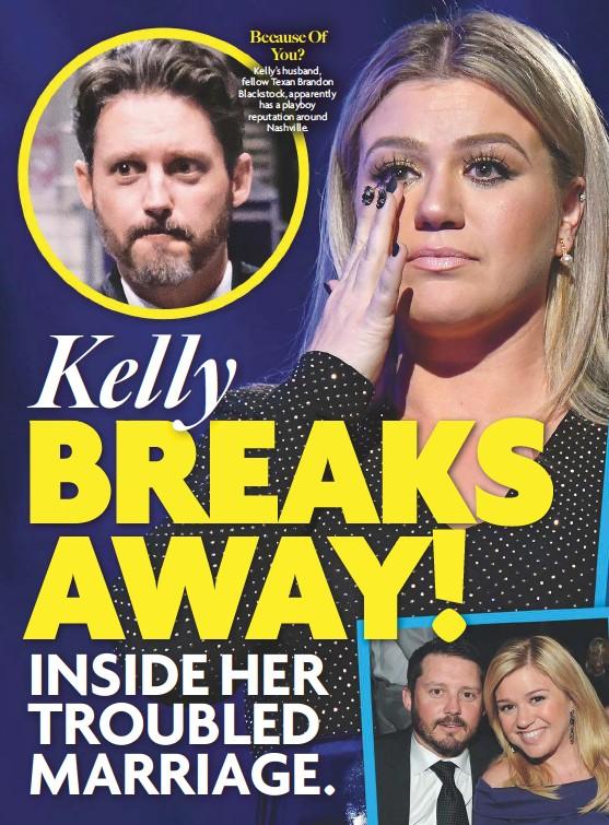 ⚡ Kelly clarkson husband rebas son