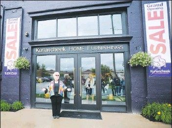 Kurlancheek Cuts Ribbon On New Furniture In Forty Fort