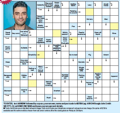 Word Puzzle Games >> PressReader - Daily Mail Weekend Magazine: 2015-11-07 - ARROW WORD